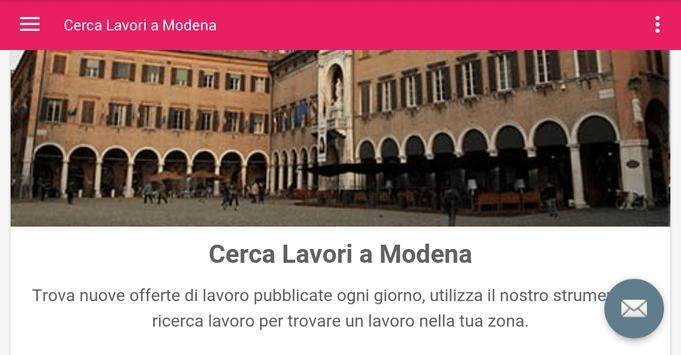Offerte di Lavoro Modena screenshot 4
