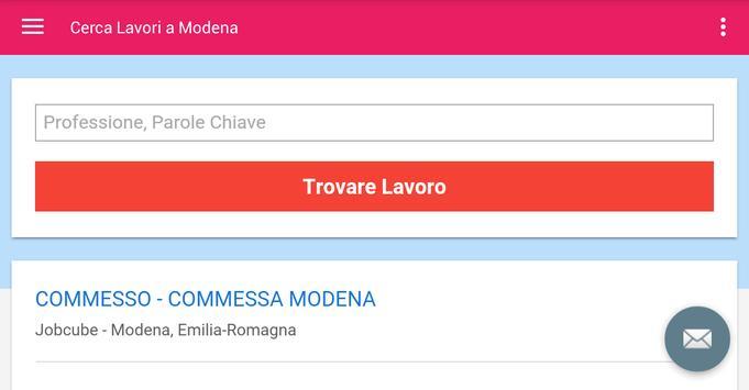 Offerte di Lavoro Modena screenshot 6