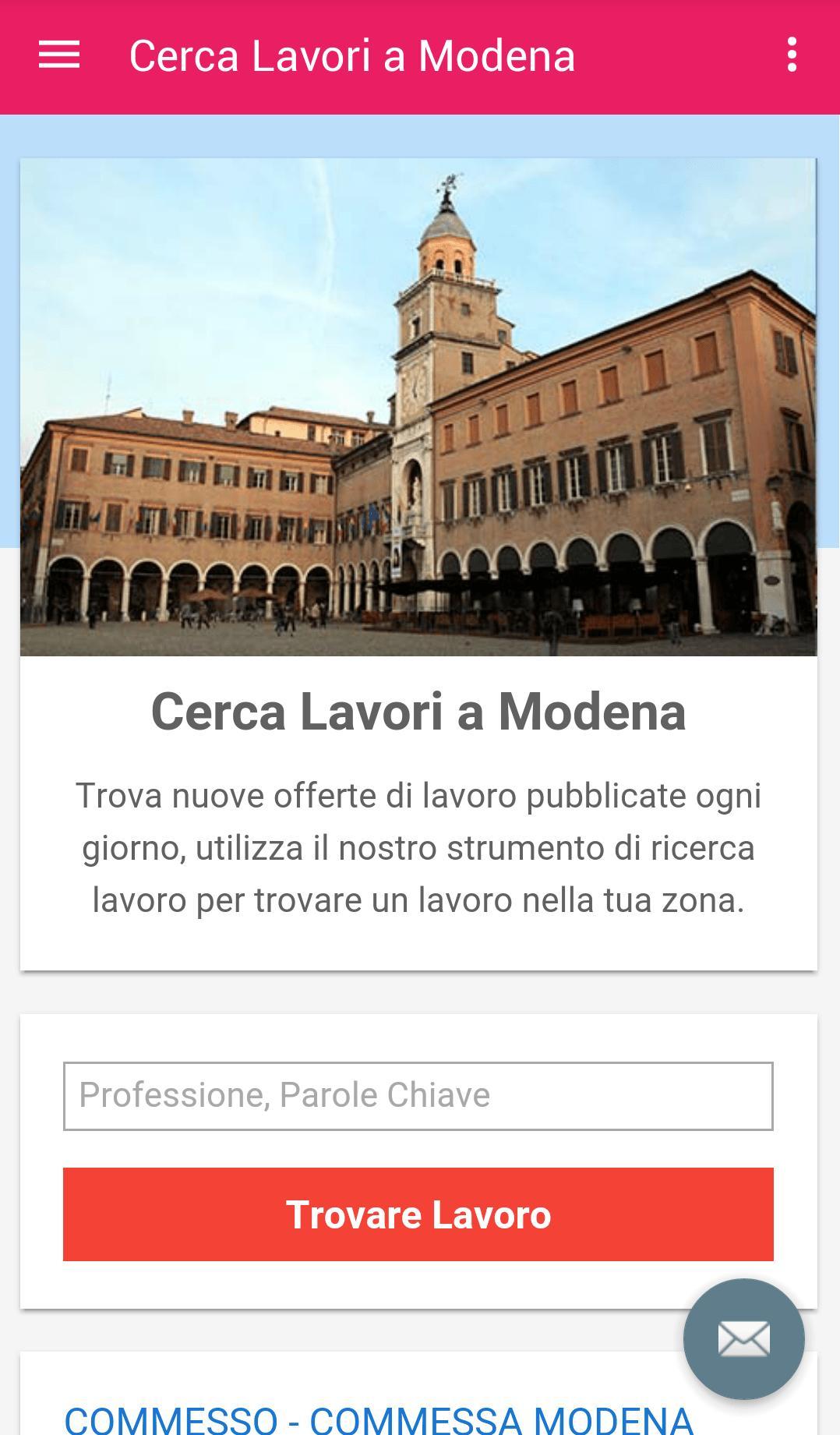 Offerte Di Lavoro Modena For Android Apk Download