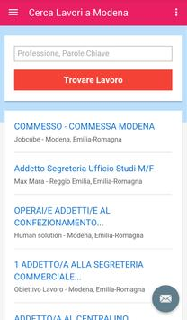 Offerte di Lavoro Modena apk screenshot