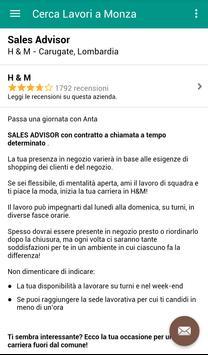 Offerte di Lavoro Monza screenshot 3
