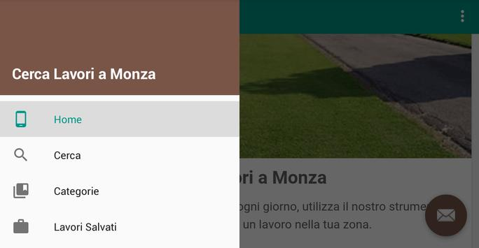 Offerte di Lavoro Monza apk screenshot