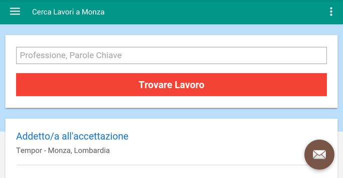 Offerte di Lavoro Monza screenshot 6