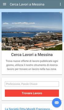 Offerte di Lavoro Messina poster