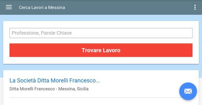 Offerte di Lavoro Messina screenshot 6