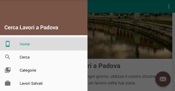Offerte di Lavoro Padova apk screenshot