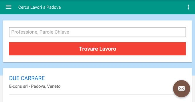 Offerte di Lavoro Padova screenshot 6