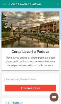 Offerte di Lavoro Padova poster