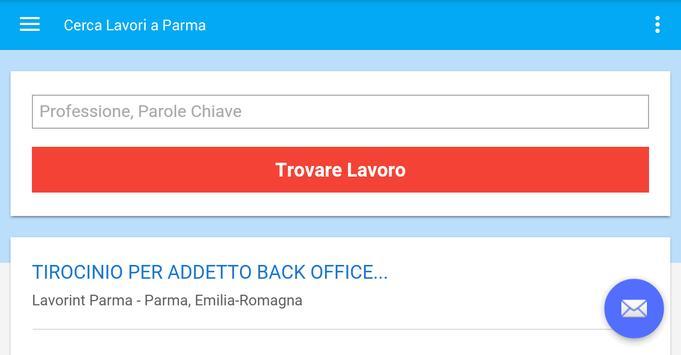 Offerte di Lavoro Parma apk screenshot