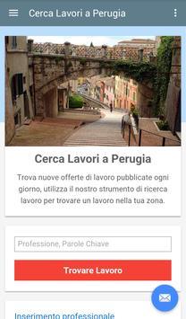Offerte di Lavoro Perugia poster