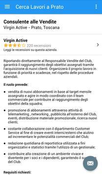 Offerte di Lavoro Prato screenshot 3