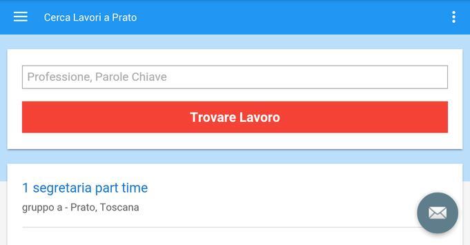 Offerte di Lavoro Prato screenshot 6
