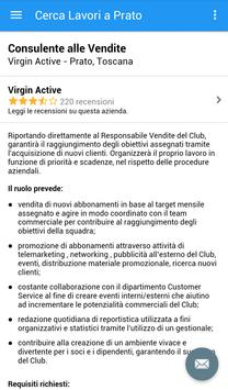 Offerte di Lavoro Prato apk screenshot