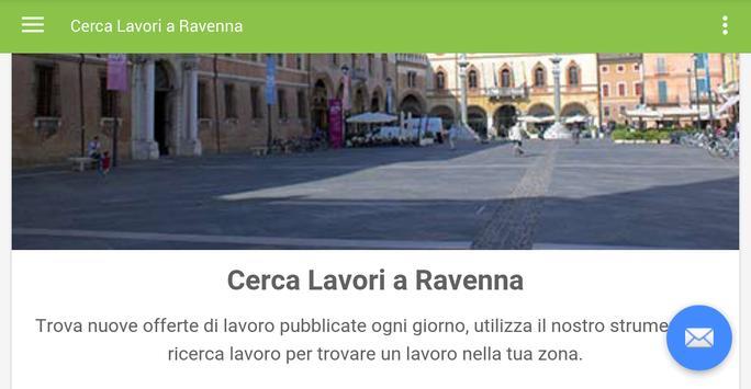 Offerte di Lavoro Ravenna apk screenshot
