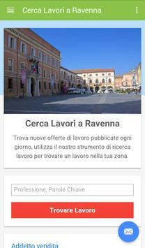 Offerte di Lavoro Ravenna poster