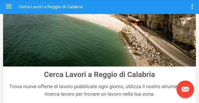 Offerte Lavoro Reggio Calabria screenshot 4