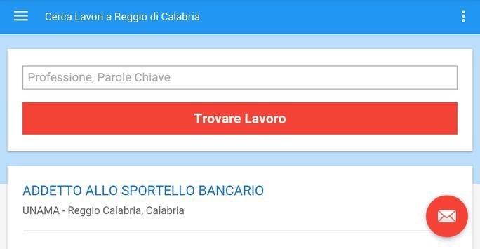 Offerte Lavoro Reggio Calabria screenshot 6