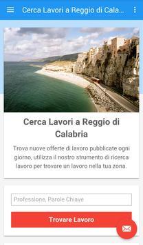 Offerte Lavoro Reggio Calabria poster