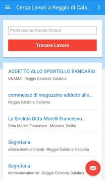 Offerte Lavoro Reggio Calabria apk screenshot