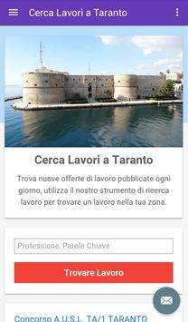 Offerte di Lavoro Taranto poster