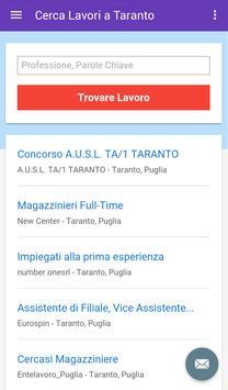 Offerte di Lavoro Taranto screenshot 2