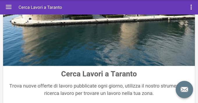 Offerte di Lavoro Taranto screenshot 4