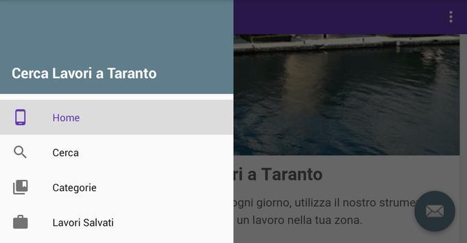 Offerte di Lavoro Taranto apk screenshot