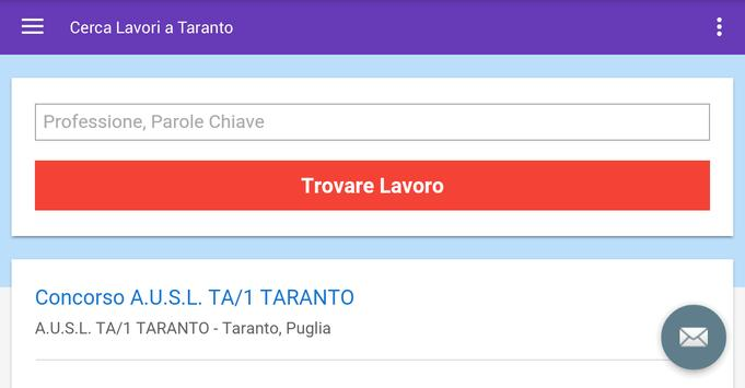 Offerte di Lavoro Taranto screenshot 6