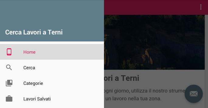 Offerte di Lavoro Terni apk screenshot