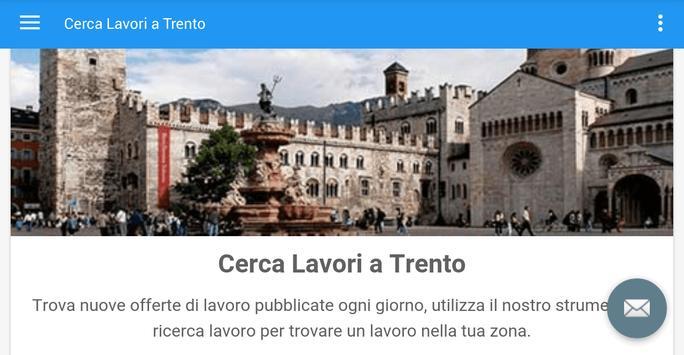 Offerte di Lavoro Trento apk screenshot