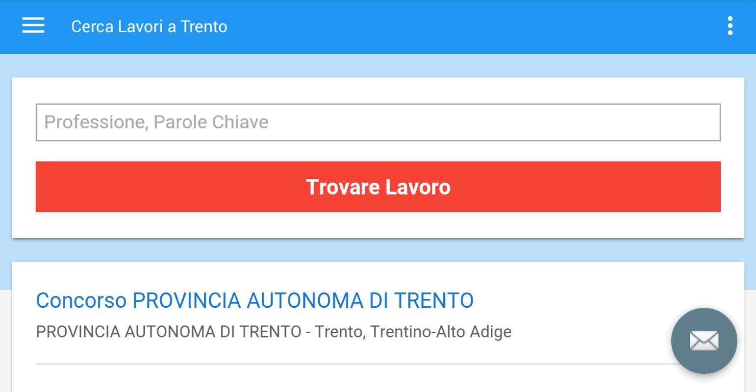 Offerte di Lavoro Trento for Android - APK Download