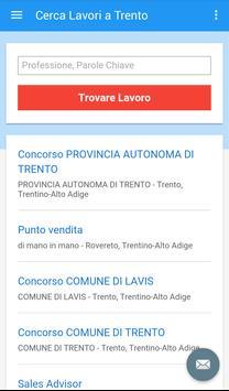 Offerte di Lavoro Trento screenshot 2