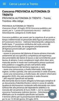 Offerte di Lavoro Trento screenshot 3