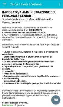 Offerte di Lavoro Verona screenshot 3