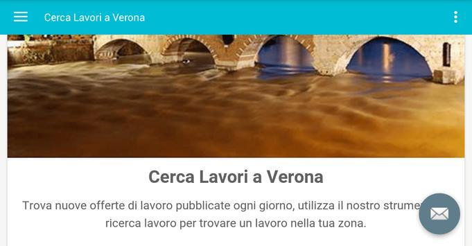 Offerte di Lavoro Verona apk screenshot