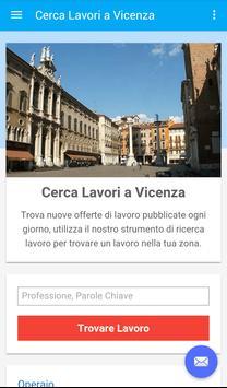 Offerte di Lavoro Vicenza poster