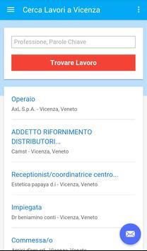 Offerte di Lavoro Vicenza apk screenshot