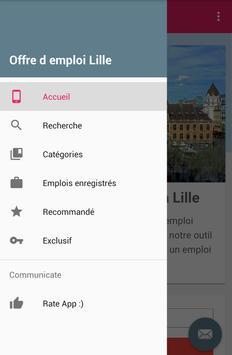 Offre d emploi Lille screenshot 1