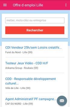 Offre d emploi Lille screenshot 2