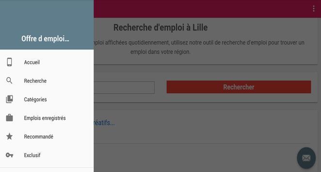 Offre d emploi Lille screenshot 5
