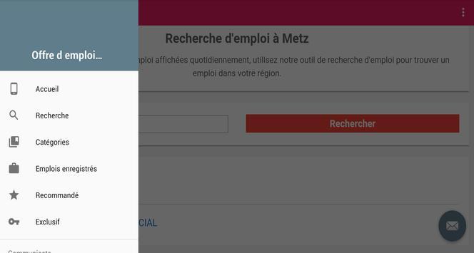 Offre d emploi Metz screenshot 5