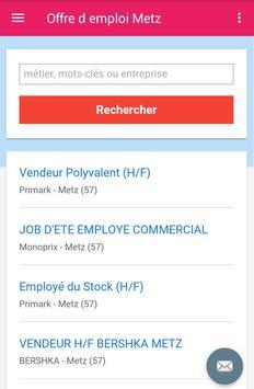 Offre d emploi Metz screenshot 2