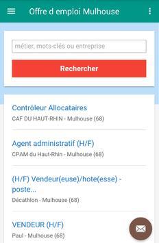Offre d emploi Mulhouse screenshot 2