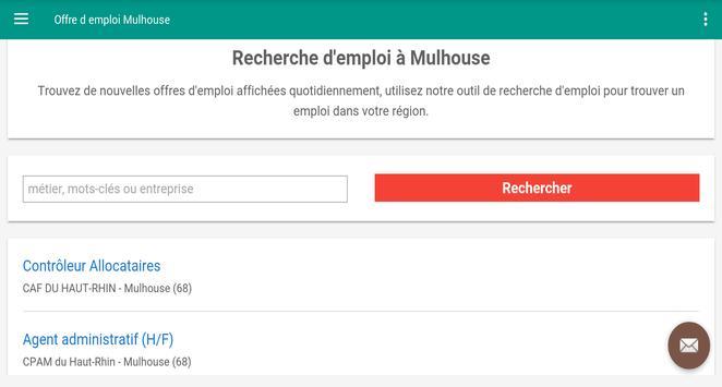 Offre d emploi Mulhouse screenshot 4