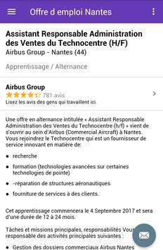 Offre d emploi Nantes screenshot 3