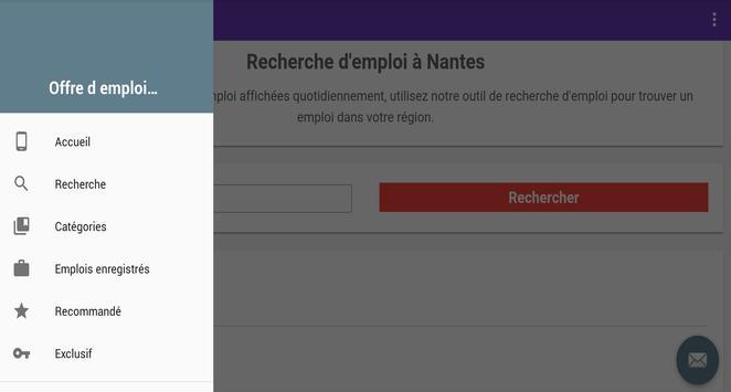 Offre d emploi Nantes screenshot 5