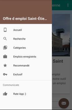 Offre d emploi Saint-Étienne screenshot 1