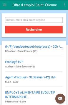 Offre d emploi Saint-Étienne screenshot 2