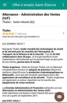 Offre d emploi Saint-Étienne screenshot 3