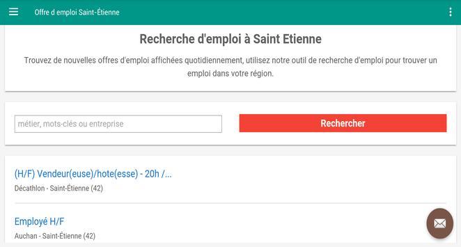Offre d emploi Saint-Étienne screenshot 4